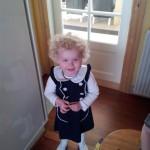 Her er Victoria, Hun går nu i børnehave